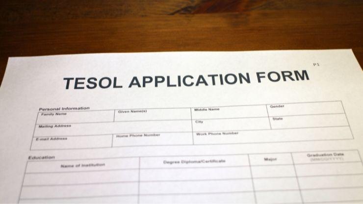 TESOL Application